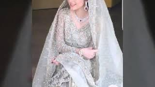 Latest pakistani Engagement bride look&style 2020/Engagement dress designs..