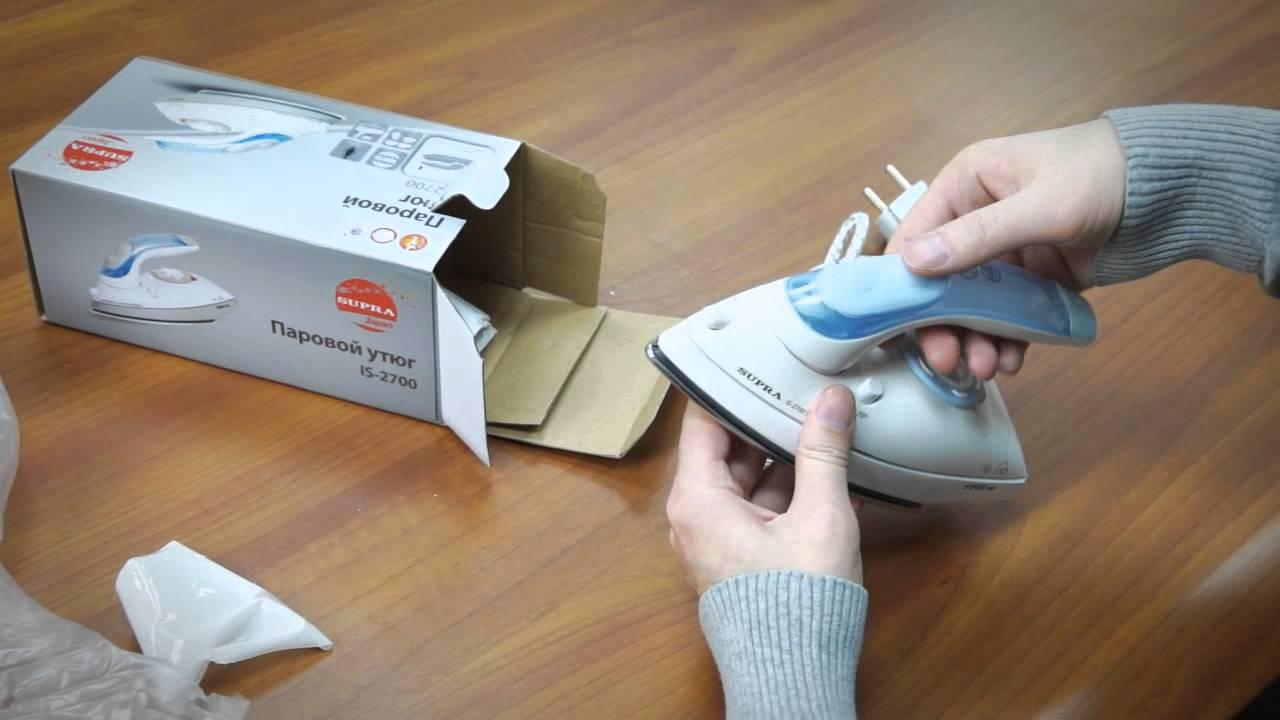 Утюг ARESA I 2202S: Распаковка и обзор от покупателя - YouTube