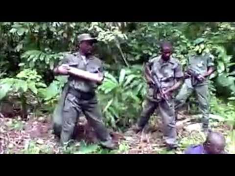 Policias Angolanos prisioneiros da FLEC-FAC em Cabinda