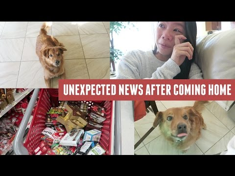 Visiting Home, Unexpected Bad News & Shopping!