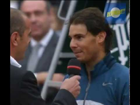 Rafael Nadal won a record eighth French Open title