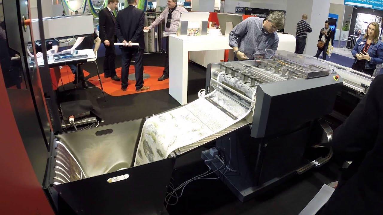 Xeikon 3500 Digital Wallpaper Printing At Heimtextil 2015