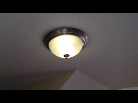 How to Install a new Ceiling Light Fixture from Scratch   YouTube How to Install a new Ceiling Light Fixture from Scratch