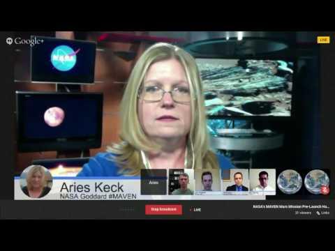 Google+ Hangout   NASA's Mars Atmosphere Volatile EvolutioN MAVEN