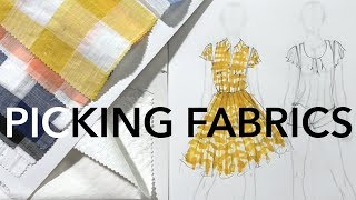 How to Pick Fabrics for Your Fashion Collection