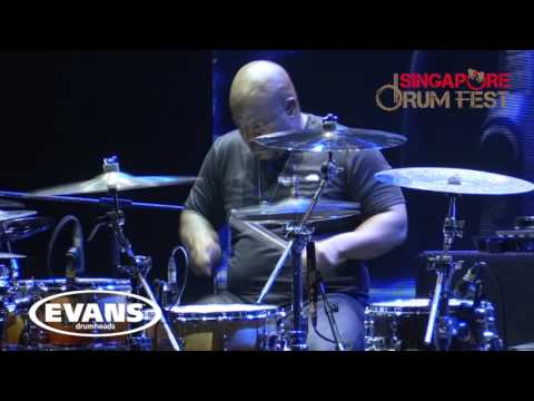 Amazing Video Angles of CHRIS COLEMAN at Singapore Drum Fest 2016