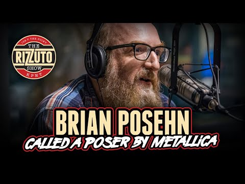 Brian Posehn - called poser by Metallica, getting his start in tv, music