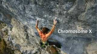 First ascent world record - Pirmin Bertle sending Chromosome X (9a) and Chromosome Y (9a) in 75min!