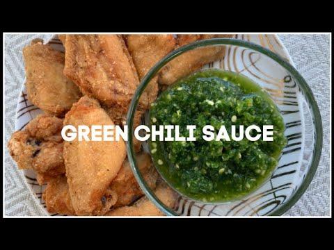 how-to-make-green-chili-sauce-|-house-of-x-tia