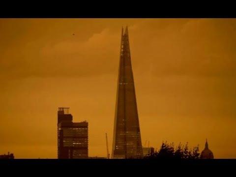 Sandstorm Blocks Sun in UK, 50% Orange Crop Losses & Rice Flooded (471)