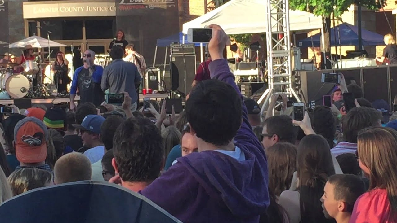Smash Mouth Bread Meltdown Taste Of Fort Collins 2015 Youtube