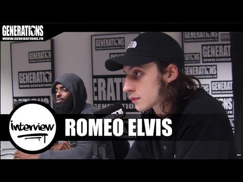Roméo Elvis - Interview (Live des studios de Generations)