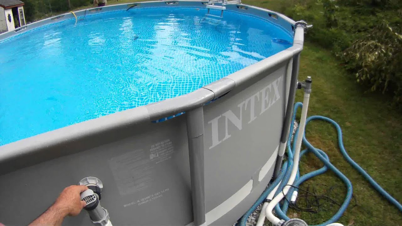 intex pool pump upgrade and salt system for a clear pool ...