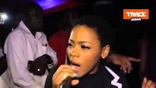 Chidinma, Jaywon and DPrince party At The Club With Remy Martin Abuja Party]