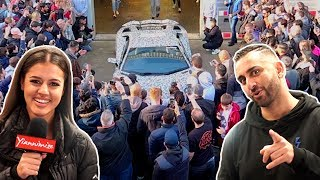 Fans Get Emotional at Lamborghini Million Subs Wrap Reveal