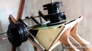 Construindo máquina leg press 45°/ academia caseira
