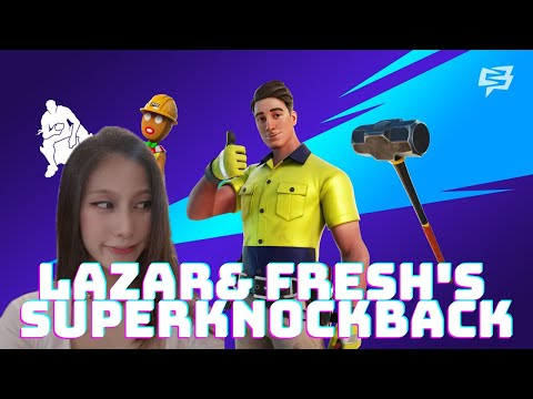 LIVE *FORTNITE LAZAR & FRESH'S SUPER KNOCKBACK CUP* New Lazarbeam Skin! | Malaysia Asia/OCE