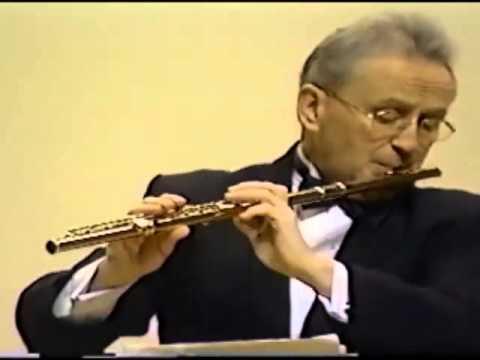 Alain Marion Flute plays Faure Fantaise  part 1