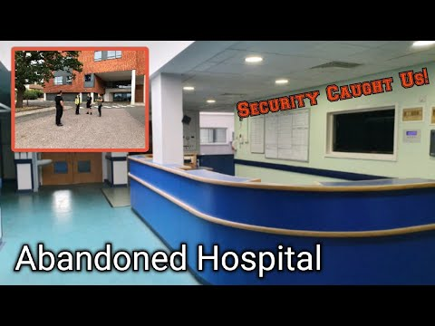 Exploring An Abandoned Hospital**WE GOT CAUGHT BY SECURITY**