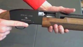 Быстро заряжаем ружье Бекас помпа