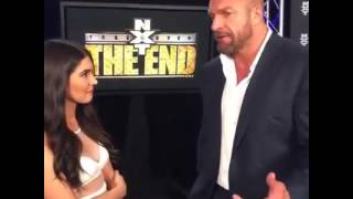 WWE Triple H NXTTakeover Facebook Live