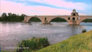 Avignon, France: Youthful City in Medieval Walls
