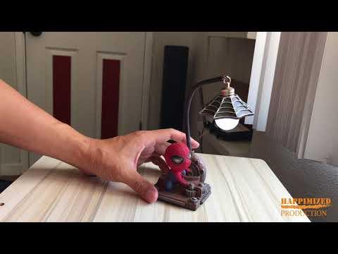 Amazing Spiderman Resin LED Night Light
