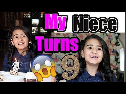 Celebrating My Neice's 9th Birthday Vlog! #birthday #9yearsold #TrendyVlogs