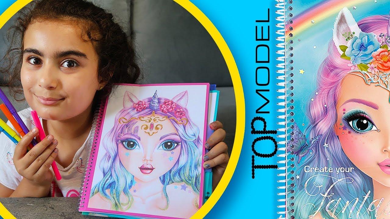 Repeat Mira Yeni Top Model Fantasy Face Boyama Kitabi Boyadi