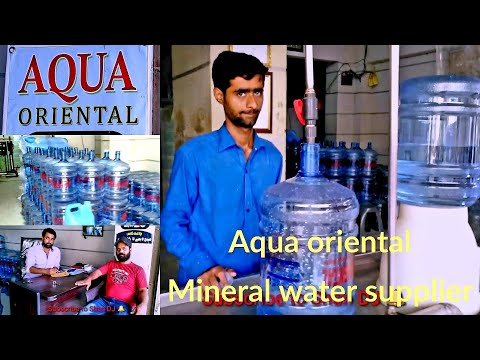Aqua oriental mineral water home delivery plant