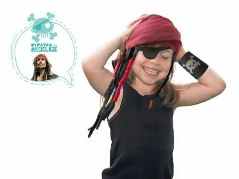 Tutorial para hacer un disfraz casero de pirata - YouTube