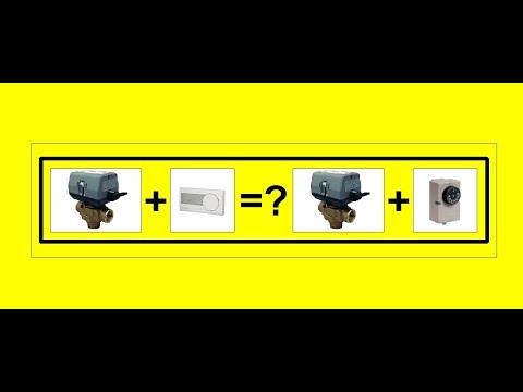 Часть 1. Управление трехходовым клапаном от термостата