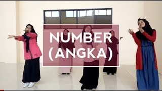 Lagu anak dalam bahasa inggris NUMBER (angka)