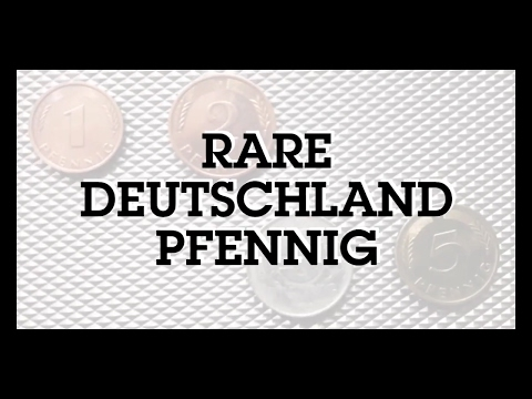 Rare Pfennig Coins of Germany