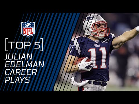 Top 5 Julian Edelman Career Plays (Up to 2016) | New England Patriots | NFL