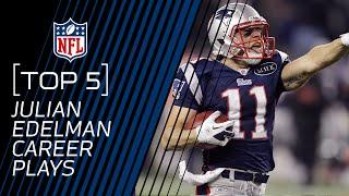 Top 5 Julian Edelman Career Plays (Up to 2016) | New England Patriots | NFL