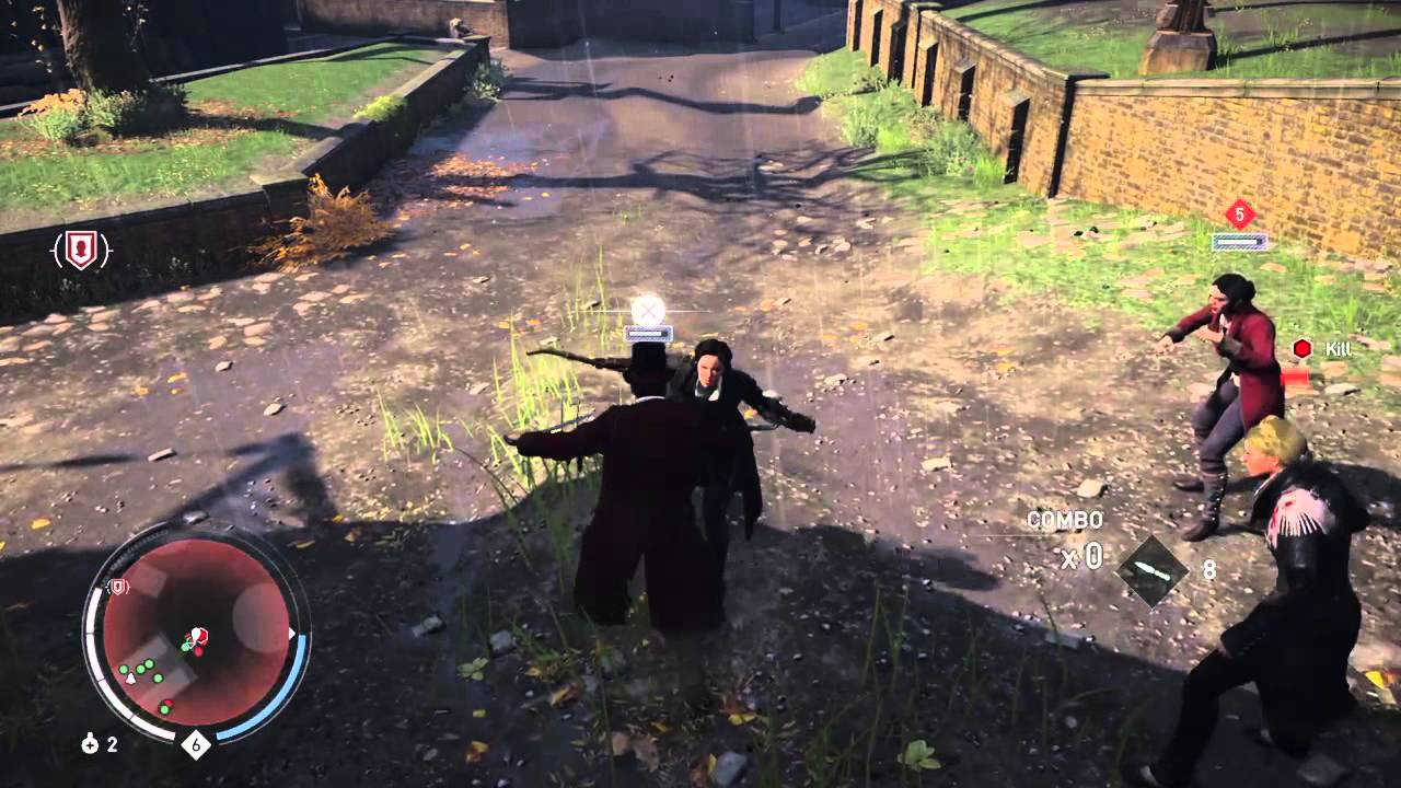 Assassin S Creed Syndicate Combat Gameplay Youtube