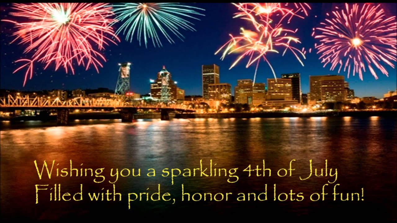 Happy 4th Of July | Happy Independence Day America | Wishes, Sms, Greetings,  Video Message   YouTube