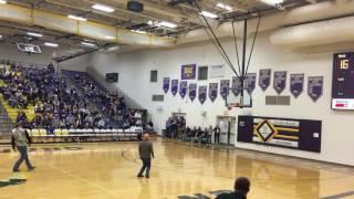 Sam Foltz half court shot