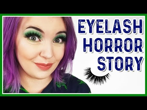 0111fcdd51e STORYTIME: MY FIRST TIME WEARING FALSE LASHES - YouTube