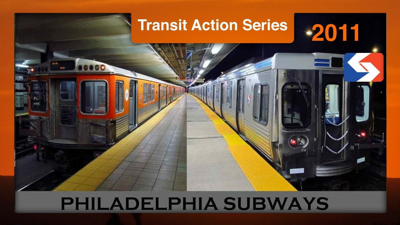 philadelphia subways septa action series youtube. Black Bedroom Furniture Sets. Home Design Ideas
