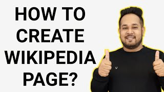 How to Create Wikiṗedia Page | How to Make a Wikipedia Page | How to Create Wikipedia Account 2020