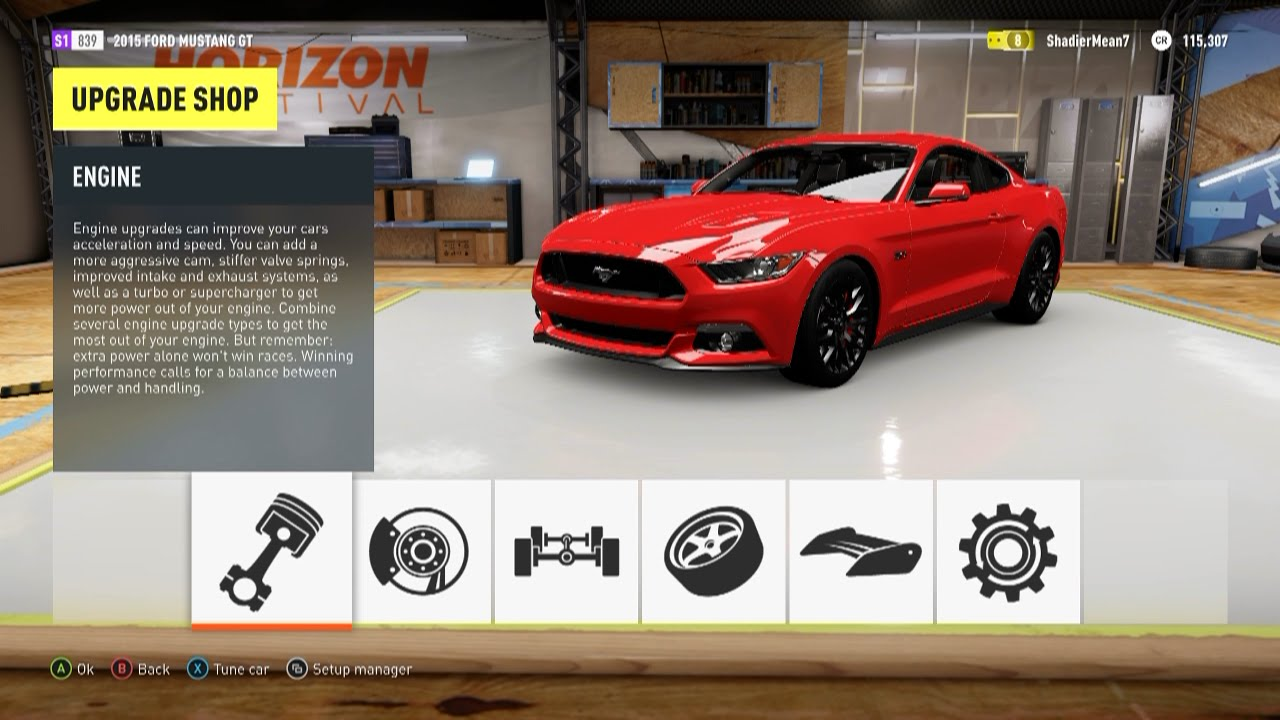 forza horizon 2 2015 ford mustang gt top speed youtube. Black Bedroom Furniture Sets. Home Design Ideas