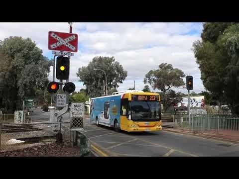 Level Crossing, Ovingham SA, Australia.