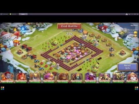 Expedition Strategy To Win Awesome Honor Badges And Merits Part 2/castle Clash