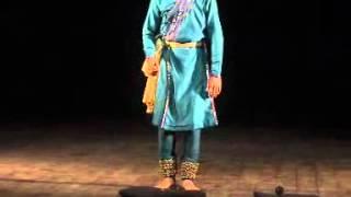 Part 1 Kathak professional Student of Rajender gangani Piyush Chauhan