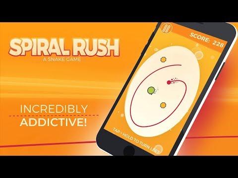 スパイラルラッシュ:ヘビゲーム(Spiral Rush: a Snake Game)のおすすめ画像1