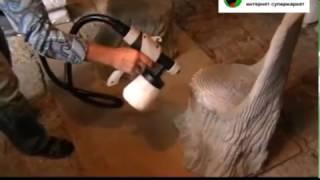 Распаковка краскораспылителя Авангард КП-550. Обзор краскопульта Авангард КП-550