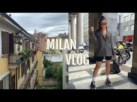 ITALY VLOG: MILAN   Get Ready With Us, The Duomo, & The Mall