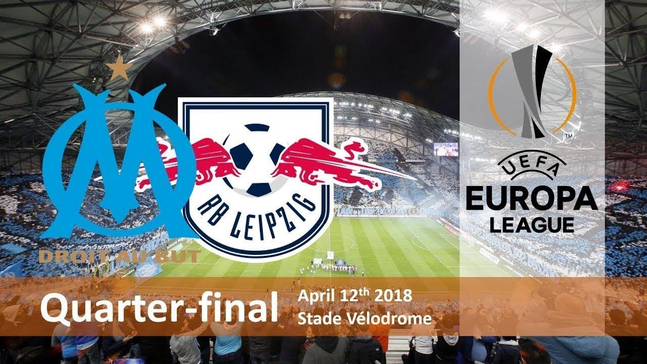 marseille vs rb leipzig uefa europa league 12 04 18